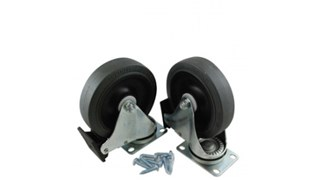 Replacement castor kit is designed for use with the Mega BRUTE mobile waste collectors.