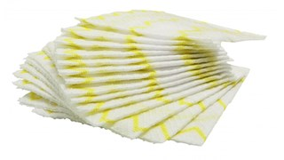 HYGEN™ Disposable Microfibre Cloths are proven to remove 99.9% of tested virus & bacteria with water only*. HYGEN™ Disposable Microfibre is colour coded to help prevent cross-contamination and reduces the risk of healthcare-associated infections.