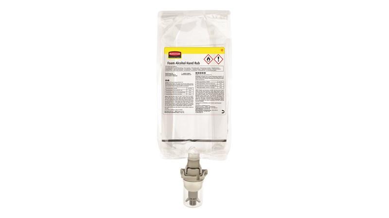 Doeltreffende handreiniger met snelle werking. Alcoholhoudende handreiniger beschikbaar als schuim of spray voor een uitgebreid gamma dispensers.