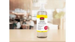 Handhygiene überall, für die sicherheit aller. In allen umgebungen effektiv. Alkoholhaltiges handdesinfektionsgel in einer praktischen 500-ml-pumpflasche.