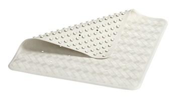 Le tapis de bain Safti-Grip® est parfait pour les douches et les baignoires. Des ventouses maintiennent le tapis en place et évitent les chutes. Il est sans latex. Sa surface texturée est antidérapante. Le tapis de douche est perforé pour améliorer le drainage. Il résiste aux moisissures.