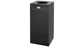 The sleek Silhouettes 61L FGSC14 Decorative Square Indoor Waste Container has a contemporary perforated pattern designed to seamlessly and beautifully blend with modern facilities and environments. High-quality materials and craftsmanship ensure containers can withstand the rigours of everyday use.