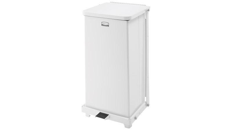 The Defenders® 45 l FGST12 Square Indoor Step-On Container is an ideal waste container for hospitals, doctor's offices and other healthcare facilities.