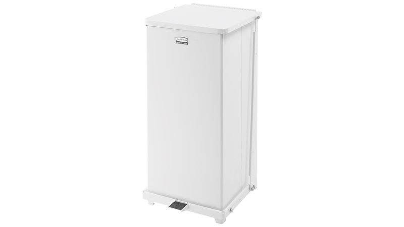 The Defenders® 49 l FGST24 Square Indoor Step-On Container is an ideal waste container for hospitals, doctor's offices and other healthcare facilities.