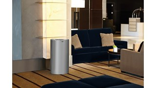 Durable and corrosion-resistant, the Atrium® 132 l FGAOT35 Open Top Decorative Indoor Waste Container has a clean, classic look with an open top for easy waste disposal.