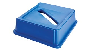 Les couvercles Papier pour conteneurs Rubbermaid Untouchable® facilitent le tri et le recyclage des déchets.