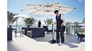 The Rubbermaid Commercial Executive Lobby Pro® Dust Pan is ideal for malls, restaurants, lobbies, and more.