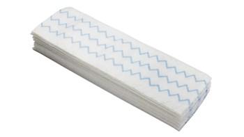 Die HYGEN™-Einwegtücher aus Mikrofaser von Rubbermaid Commercial entfernen nachweislich 99,9% aller Mikroben, einschließlich Sporen wie Clostridioides difficile. Die Tücher unterstützen die Unterbrechung der Infektionskette, wo sonst zur Reinigung nur Wasser verwendet wird.