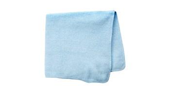 Microfibre Light Commercial Cloth 40x40cm, Blue