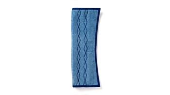 Der HYGEN™ PULSE™ Mikrofaser-Nasswischbezug Plus von Rubbermaid Commercial ist beidseitig verwendbar, um eine doppelte Reichweite und eine gleichmäßige, streifenfreie Reinigung zu gewährleisten