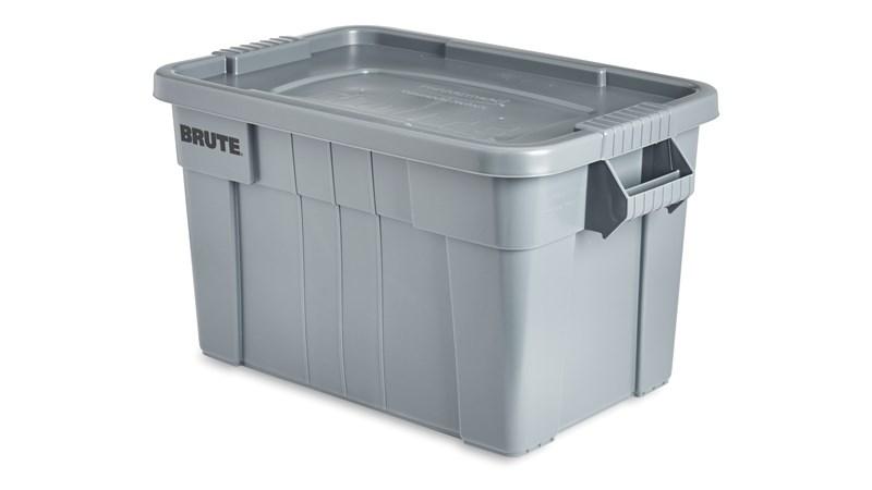 Ce produit Rubbermaid BRUTE® est une boîte de stockage des aliments ultrarésistante. Idéal pour le secteur de la restauration, ce conteneur en plastique est conforme à la norme NSF/ANSI 2 relative à l'équipement utilisé pour la manipulation et la préparation des aliments.
