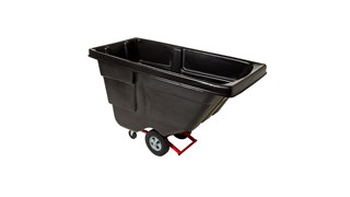 Durable rotational moulded trucks handle heavy loads up to 1,114kgs. with ease