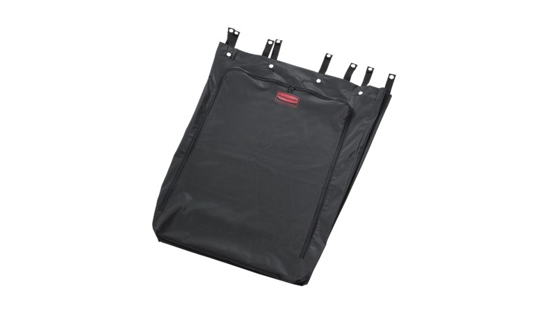 The Rubbermaid Commercial Premium Linen Hamper Bag fits the 30-Gal Premium Linen Hamper (FG630000BLA).