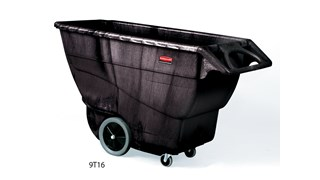 Die strapazierfähigen Wagen aus Strukturschaum meistern mühelos schwere Lasten