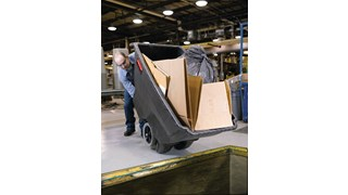 Durable molded trucks handle heavy loads with ease