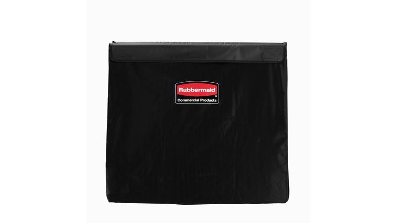The Rubbermaid Commercial 1881783 8 Bushel Executive Series X-Cart bag, Black.
