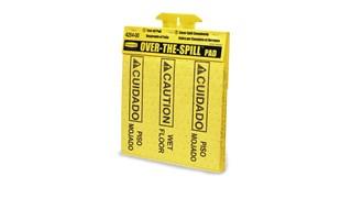 Ce produit contient 22 feuilles qui absorbent rapidement et efficacement les déversements d'eau et d'huile.