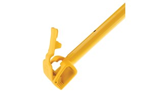 Extendable handle is designed specifically for use with Spill Mop Pads and Biohazard Spill Mop Pads.