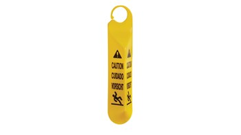 Ideal for use in stairways and on doors. Multilingual safety communication utilizes ANSI/OSHA-compliant Colour and graphics.