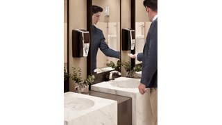 Battery-free and touch-free AutoFoam delivery reduces the spread of germs