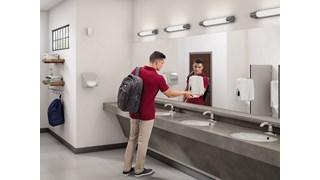 Schaffen sie sichere umgebungen mit hochwertiger handhygiene in einem robusten manuellen spender