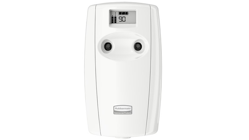 Microburst® Duet, a dual-fragrance odour control system, alternates between two complementary scents.