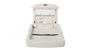 Created from high-density polypropylene to reduce moisture absorption, the baby station meets all global ASTM, ADA, EN safety standards.