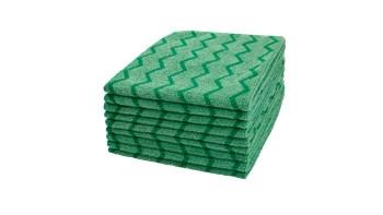HYGEN™ Microfibre Cloth 40x40cm, 12 Pack, Green
