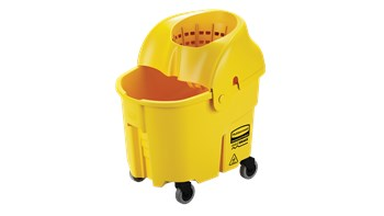 WaveBrake® 33L Institution Bucket and Wringer, Yellow