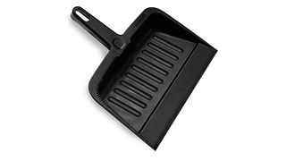 The Rubbermaid Commercial Heavy-Duty Dust Pan is perfect for quick clean-ups.