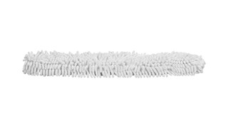 The Rubbermaid Commercial HYGEN™ Microfibre Flexi-Wand Dusting Sleeve easily traps dust, hair, and larger particles.