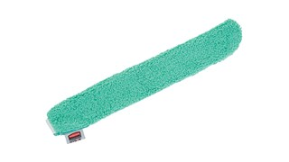 The Rubbermaid Commercial HYGEN™ Microfibre Flexi-Wand Dusting Sleeve is made of a high-pile split Microfibre that provides more dusting coverage than low-pile Microfibre.