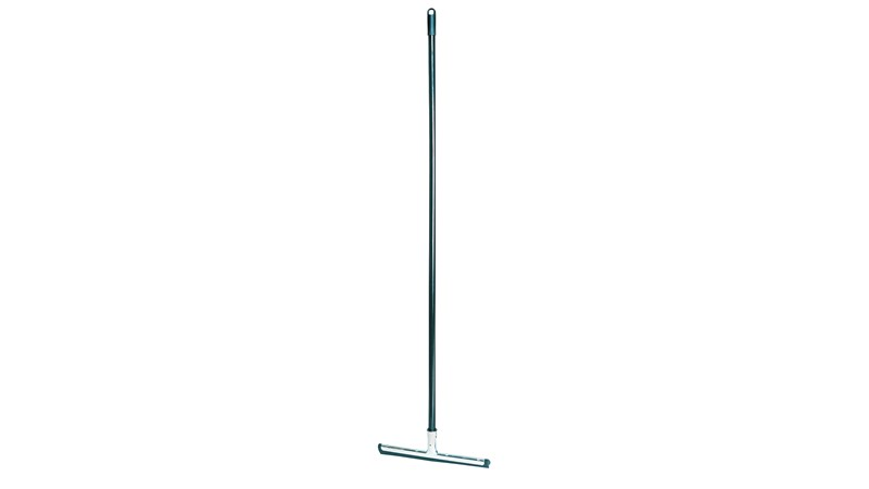 Lobby Pro® Wet/Dry Cleaning Wand is a squeegee designed for use with our lobby dustpans to clean up wet and dry debris.