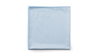 Executive Series™ HYGEN™ 16 IN X 16 IN Glass Microfiber Cloth, 12 Pack, Blue