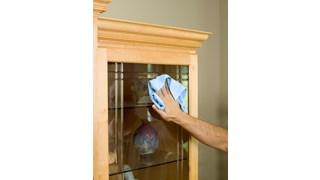 De Rubbermaid Commercial HYGEN™ Spiegel- en glasdoeken van Rubbermaid zijn voorzien van een hoogwaardige microvezelconstructie voor een kras- en pluisvrije reiniging.