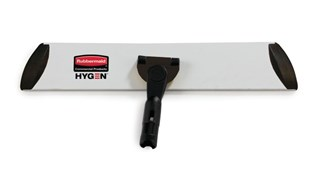 HYGEN™ Quick-Connect Frames features a flat profile that s Lides easily under furniture and equipment. Trapezoidal shape improves cleaning in corners and other hard to reach areas by reaching the highest spaces with ease.