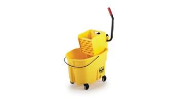 WaveBrake® 33L Side-Press Bucket and Wringer, Yellow