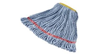Cette frange de lavage Rubbermaid Web Foot® contient une protection antimicrobienne contre la croissance de bactéries à l'origine des taches et des odeurs.