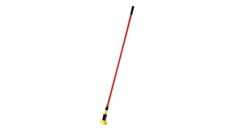 Gripper® Clamp Style Handles hold mop firmly between the jaws of the mop handle; should be used with 12.7cm (12.7 cm) headband mops only.