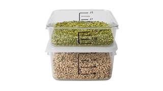 The Rubbermaid Commercial seven colours of storage and prep tools help to reduce cross-contamination in your kitchen