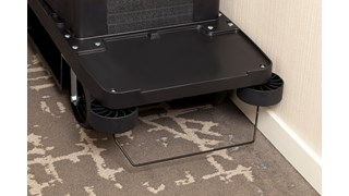 Impact-absorbing and non-marring housekeeping cart bumpers from Rubbermaid Commercial are designed to reduce costly wall damage.