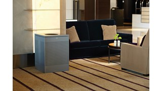 The sleek Silhouettes 76L FGSC18 Decorative Square Indoor Waste Container has a contemporary perforated pattern designed to seamlessly and beautifully blend with modern facilities and environments. High-quality materials and craftsmanship ensure containers can withstand the rigours of everyday use.