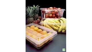 The Rubbermaid Commercial Food Storage Tote/Box is a durable, versatile and sized to fit into existing racks and counters.